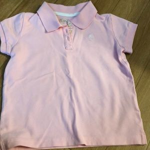 Super sweet baby pink Lilly Pulitzer polo size 5